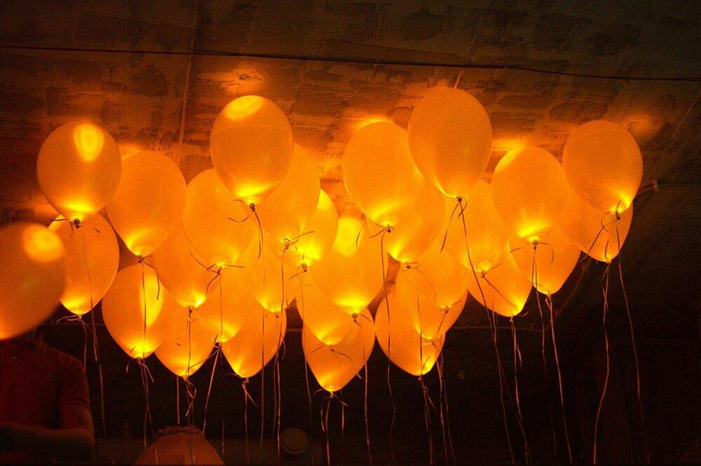 Воздушные шары под потолок с доставкой